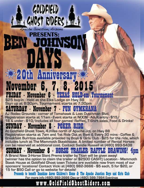Ben Johnson Days 2015